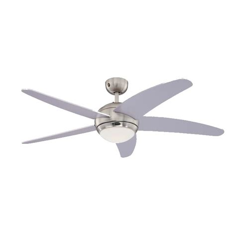 westinghouse ceiling fan remote bendan 52 quot westinghouse silver ceiling fan with light