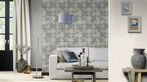 Mosaik Fliesen Tapete by Vliestapete Kachel Fliese Mosaik Ethno Rasch Bunt 526301