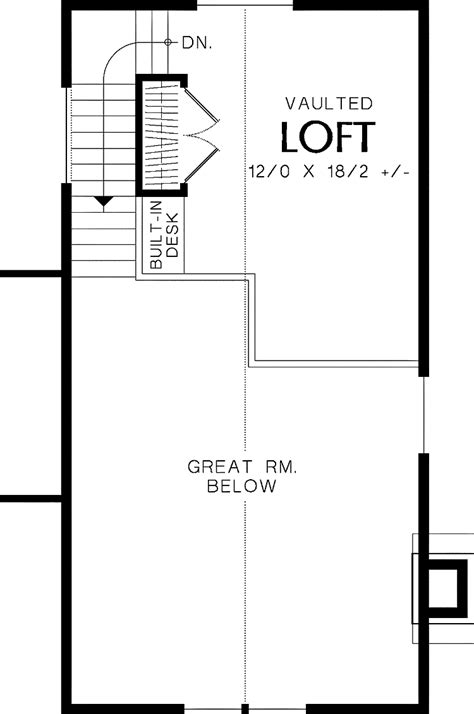 one bedroom with loft house plans loft house plans smalltowndjs com