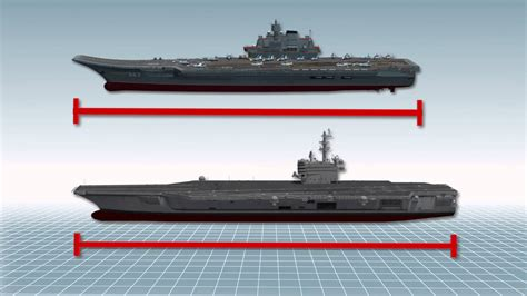 china vs us new aircraft carrier is on its way says