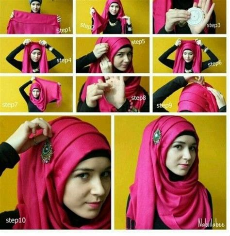 hijab fashion step by step 17 best images about hijab styles on pinterest simple