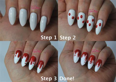 tutorial nail art gang halloween nail art tutorial talonted lex