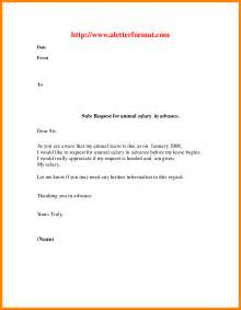 Vacation Letters by 6 Vacation Leave Letter Sle Homed
