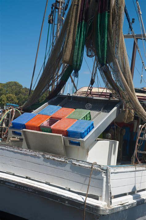 boats yamba yamba prawn boat stock photo image of nobody blue