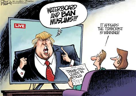 nate beeler political on ban muslims by nate beeler