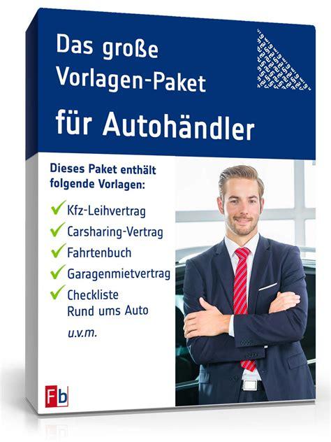 Verkaufsanzeige Auto Vorlage by Das Gro 223 E Vorlagen Paket F 252 R Autoh 228 Ndler De Vorlage Download