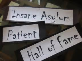 Baby Shower Homemade Decoration Ideas Insane Asylum Patient Hall Of Fame Diy Inspired