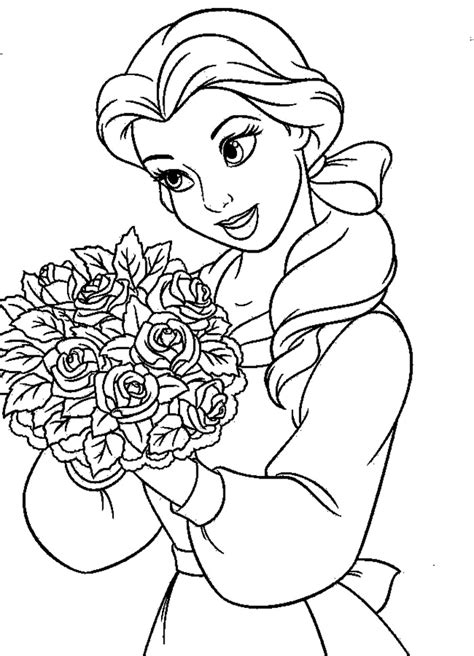 belle reading coloring pages belle reading coloring sheets bell from beauty and the