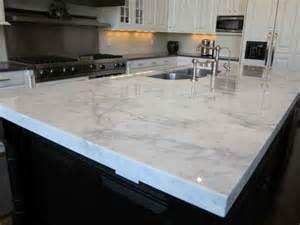 Quartz Island Countertop Statuary Marble White Quartz Countertops Kitchen