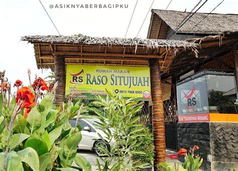 rumah makan raso situjuah pekanbaru cafe pekanbaru