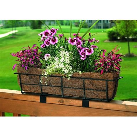 railing planters ikea planters extraordinary deck railing window boxes over the