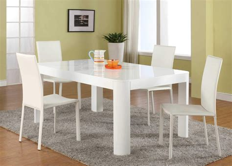 white kitchen table modern attachment white dining room table set 1078 diabelcissokho
