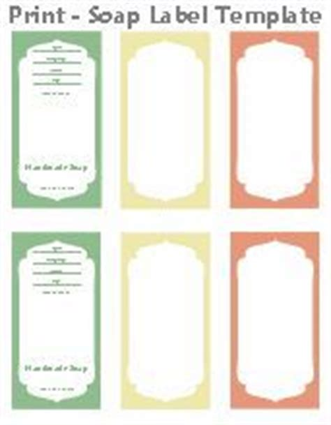 Free Printable Cigar Band Soap Label Template Soap Pinterest More Label Templates Ideas Soap Band Template