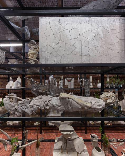 designboom gallery adri 225 n villar rojas exhibit opens serpentine sackler gallery