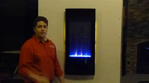 azure 50 electric fireplace napoleon vertical azure nefv38h electric fireplace product