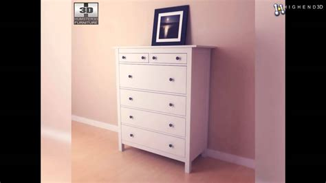 hemnes chest of 6 drawers ikea hemnes chest of 6 drawers 3d model from creativecrash