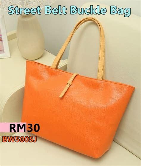 Murah Korean Traveler Shopping Bag korean belt buckle bag knzeq shop