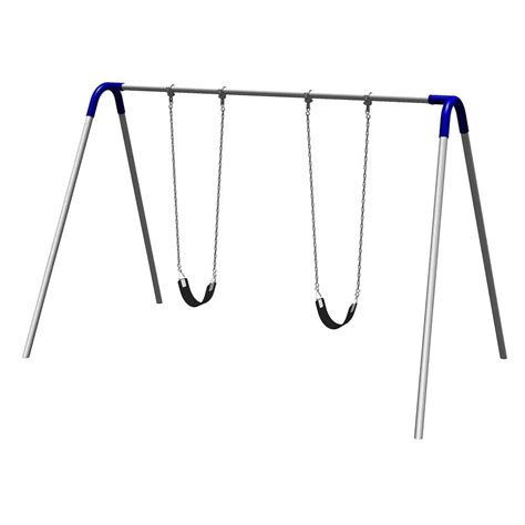 home depot metal swing sets ironkids challenge 100 metal swing set 8010 the home depot