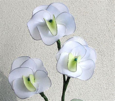 fiori fatti con le calze a pancia in gi 249 fiori con le calze
