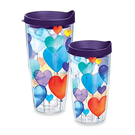 bed bath and beyond tumblers tervis 174 balloons heart wrap tumbler bed bath beyond