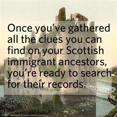 Scottish Records Free Seeking Scots Ancestors Family Tree
