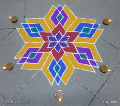 How To Make Paper Cutting Rangoli - 270 best images about rangoli on mandalas