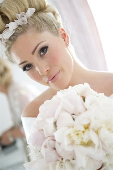 braut auf englisch beautiful bridal makeup hair styling at id chichester