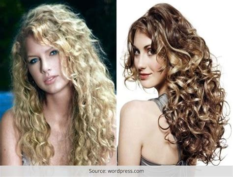spiral perms for long hair spiral perms for fine hair long hairstyles
