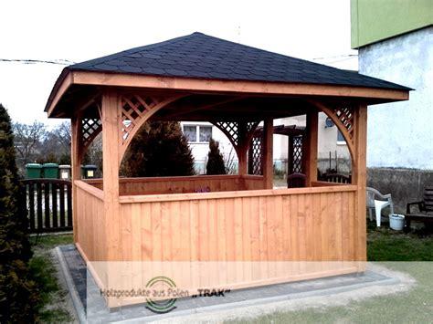 holzpavillon mit seitenwänden pavillon aus holz pavillon aus holz achteckiger pavillon