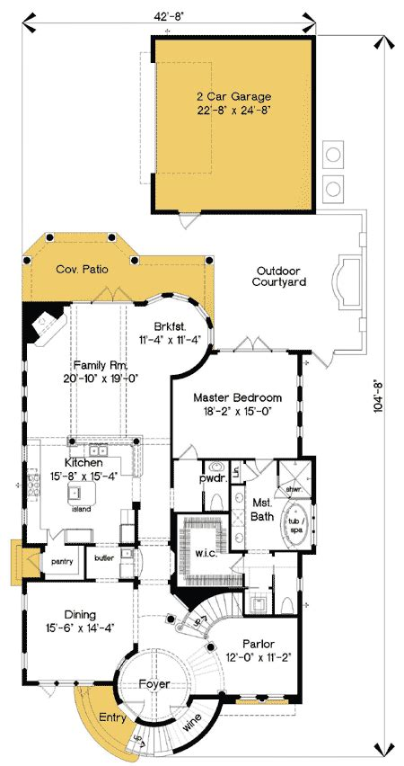 exciting mediterranean home plan 83361cl architectural