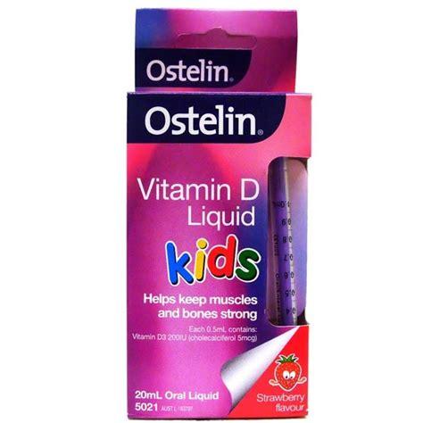 Murah Ostelin Vitamin D Liquid For Vit D Untuk Anak Ostelin Vitamin D Liquid 20ml Chempro Chemist