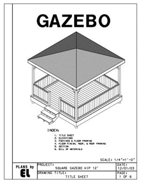 gazebo floor plans free gazebo building plans 171 floor plans