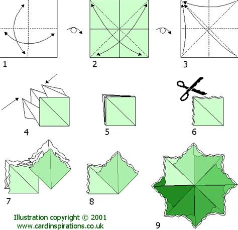 Folding Chart Paper - teabag folding chart 2 teabag folding teas