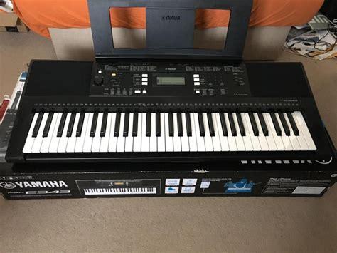 Keyboard Yamaha E343 Yamaha Psr E343 Portable Keyboard Newport Wightbay