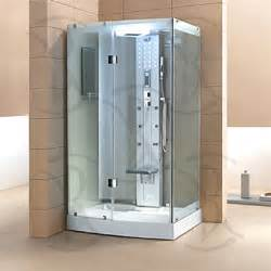 ariel 300 clear frosted glass steam shower room steam