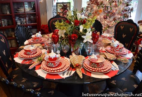 Small Kitchen Dining Table Ideas christmas table settings tablescapes for a formal or