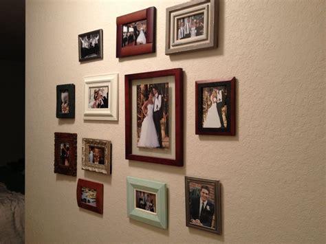 interior design picture frames picture wall random frames interior design
