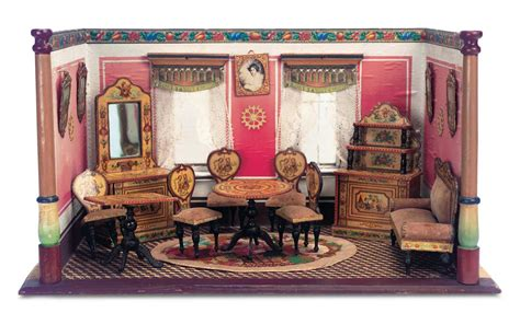 Echoes Of Remembered Rooms Volume I 34 Charming Petite Dollhouse Room With Original