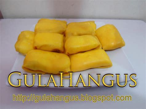 gula hangus   durian crepe encik asben