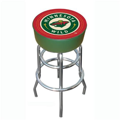 Minnesota Bar Stools by Nhl Minnesota Padded Bar Stool Findgift