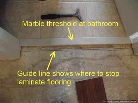 Where to End Laminate at Doorways