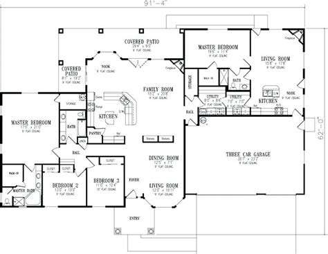 house plans with inlaw suite ranch house plans with suite