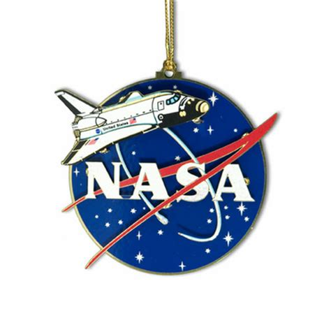 nasa shuttle ornament