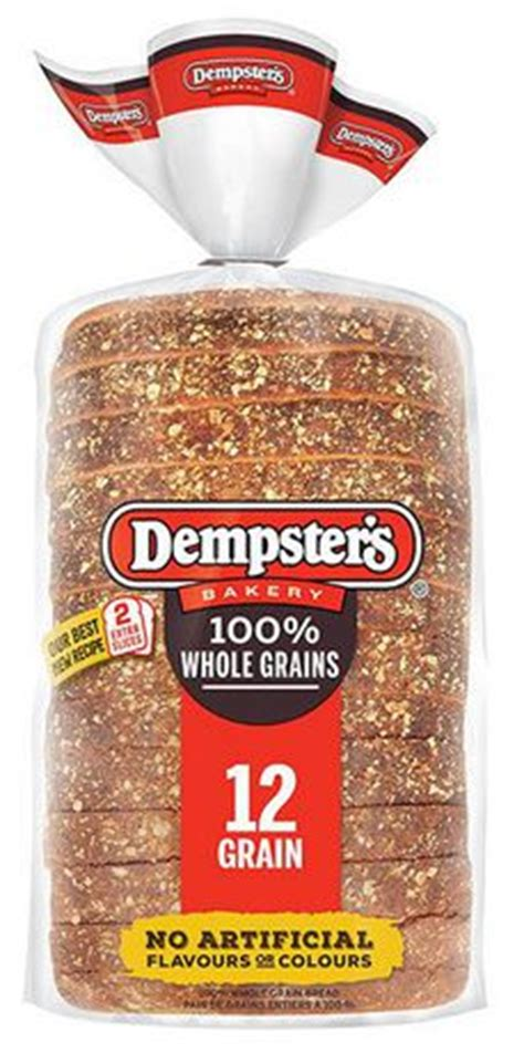 whole grains 12 grain bread dempster s100 whole grains 12 grain bread walmart canada