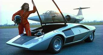 Lancia Stratos Zero The Bertone Lancia Stratos Hf Zero Was The Baddest Disco