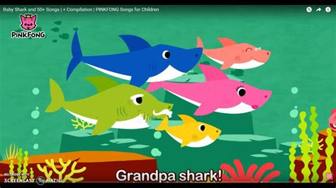 baby shark grandpa shark song baby shark and 50 songs compilation pinkfong songs
