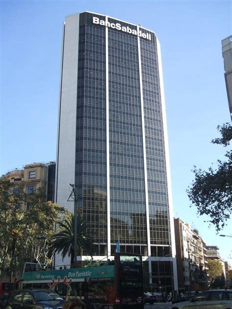 torre banco sabadell la enciclopedia libre - Banc De Sabadell Barcelona