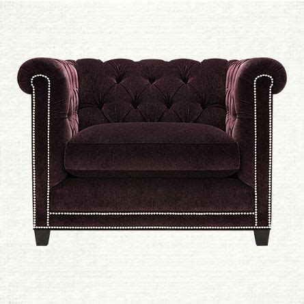 Purple Chair And A Half Vangogh Tufted Upholstered Chair And A Half In Amethyst