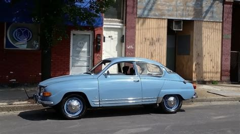 Saved From A Filthy Garage: 1969 Saab 96 V4 De Luxe