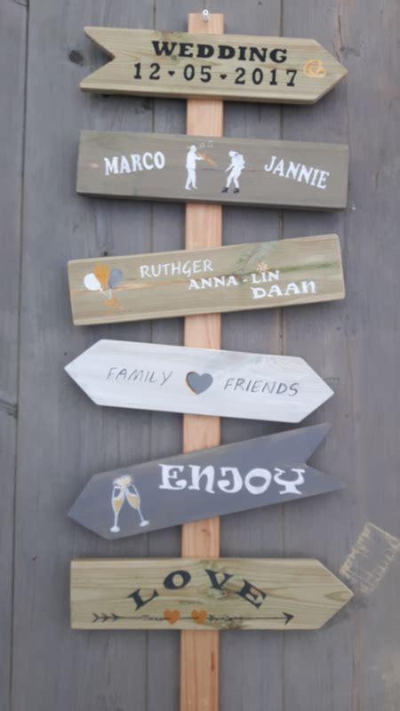 houten bord met tekst tuin houten tekst borden wegwijzer ibiza stijl voor tuin